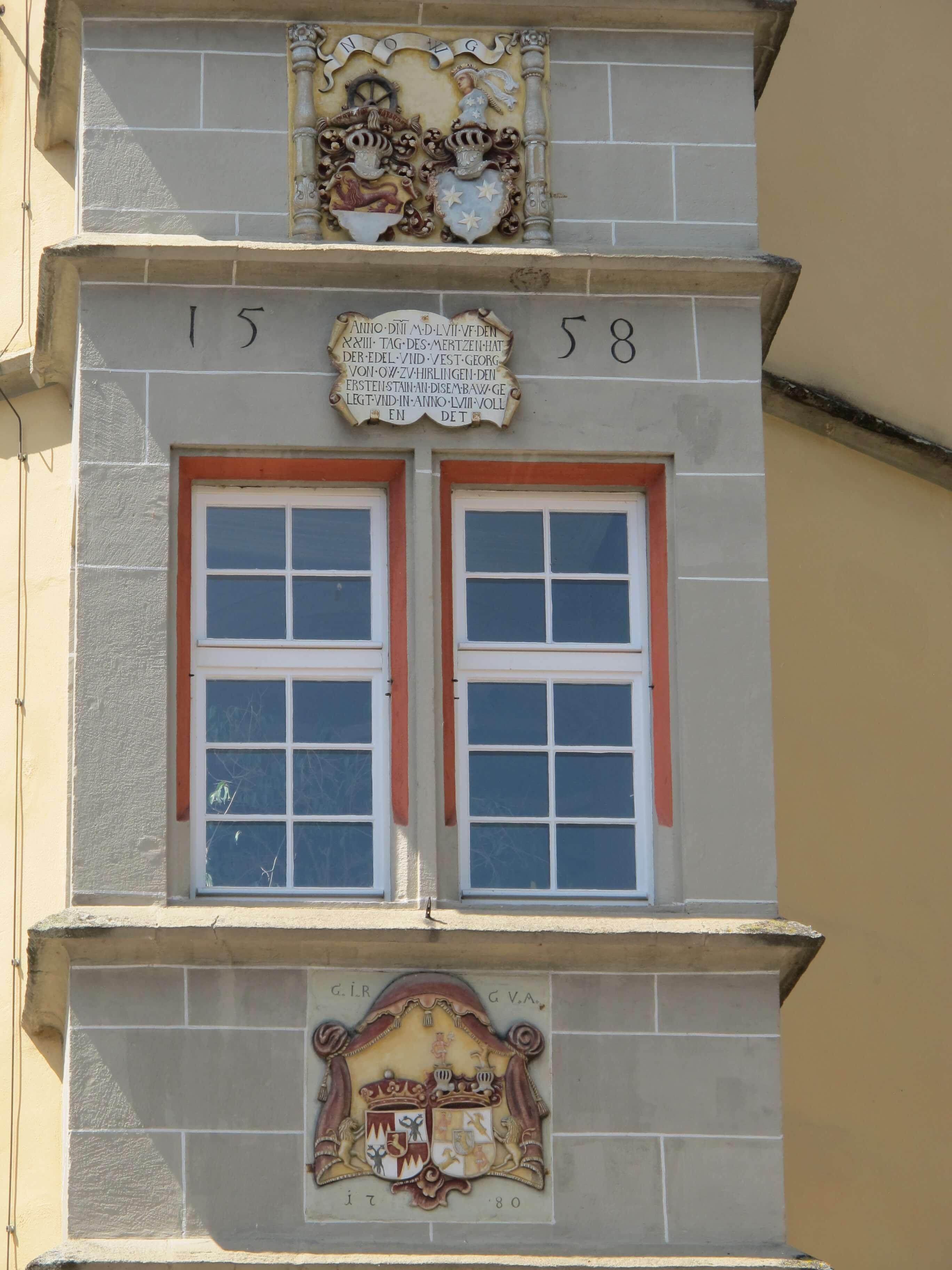 Ausschnitt Schloss