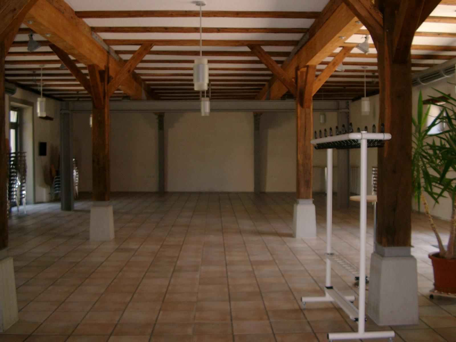 Bürgerhaus Hirrlingen großer Saal im Erdgeschoss