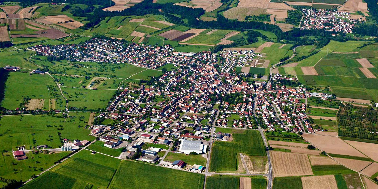 Luftbild von Hirrlingen