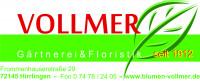 Logo Gärtnerei Vollmer
