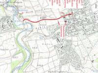 Darstellung der Bauabschnitte der Sanierung Ortsdurchfahrt Bietenhauser Straße