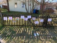 Kinder spenden Hoffnung - gemeinsam gegen Corona: Aktion Regenbogen Kindergarten Wiesenäcker