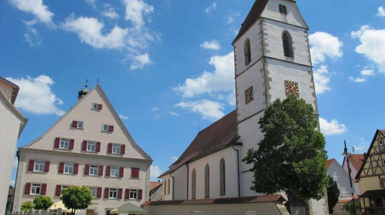 St. Martinus Kirche und Kloster Hirrlingen