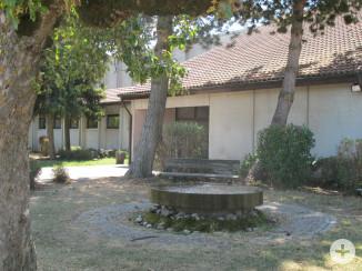 Eichenberghalle Eingangsbereich mit Brunnen