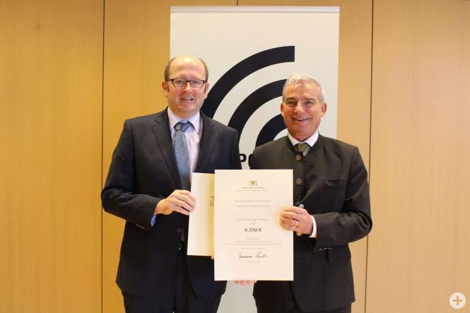 Übergabetermin Zuschuss Breitband in Stuttgart