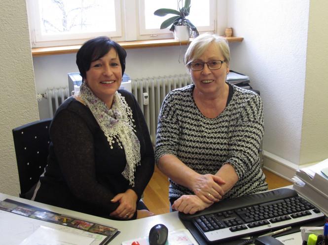 Silke Abt-Eberhart und Gertrud Wannenmacher